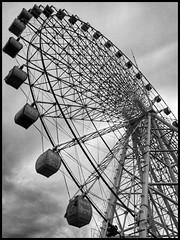 New big wheel (hej_pk / Philip) Tags: gwangju kwangju wheel ferris big sky sydkorea lg g3 cat6