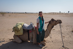 Rajasthan - Jaisalmer - Desert Safari with Camels-76
