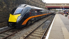 Grand Central 180105.  Bradford Interchange.  8th October 2017 (Ajax46.) Tags: bradfordinterchange 180105 grandcentraltrains 8thoctober2017