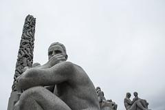 Vigeland Park - Norway (irispuag) Tags: vigeland park norway noruega sculpture art arte sky travel oslo escultura photo photography north city