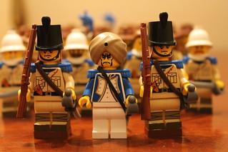 The Maharaja and his Royal Guards