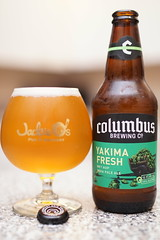 The best wet hopped beer in the game. Columbus Brewing; Yakima Fresh (celisale) Tags: ipa wethop wethopped craftbeer hoppy fresh hops