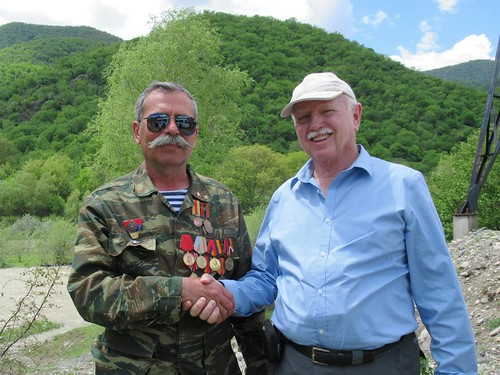 David Stanley in Karabakh