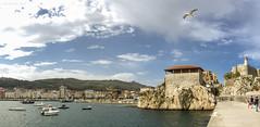 Vista de Castro Urdiales (José Varela) Tags: olympus omd em1 micro43 mzuiko 1240 paisaje panorámica cantabria castillo mar faro