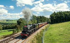Wallace Field (Kingmoor Klickr) Tags: 44932 wallacefield lowhouse armathwaite stanier black5 waverley sc settlecarlisle cumbria