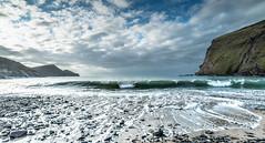 (Femme Peintre) Tags: meer strand wolken flut wellen cornwall england natur outdoor