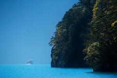 into the blue (pat.netwalk) Tags: vierwaldstättersee blue ship boat boattrip copyrightpatrickfrank landscape dreamy bildgutch