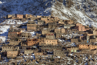 High Atlas Mountains Village