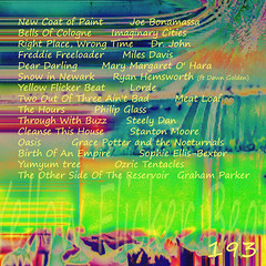 Yellow Flicker Beat - 193 (Back) (Paul B0udreau) Tags: cd cover cdcover mixtape mix albumart linernotes
