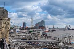 Hamburg (markusirndorfer) Tags: hamburg landungsbrücken port hafen