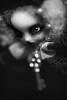 Shadow Key (★ ♥ Pounkie ☠ †) Tags: shadowkey ★noirblanc bw black médaillon secretgarden jardinsecret kdoll kandyskadoll sikrette necklace collier creation jewel bijou noir clé clef key