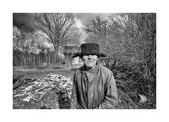 (Jan Dobrovsky) Tags: portrait people reallife outdoor rural leicammonochrom countryside leica biogon21mm human monochrome figure blackandwhite volyn ukraine social countrylife document