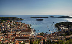Hvar Town (gwendolyn.allsop) Tags: hvar view fortress d5200 adriatic sea europe town