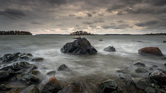 Storm (Mika Laitinen) Tags: balticsea canon5dmarkiv europe finland kallahdenniemi kallvik leefilters suomi vuosaari beach cliff cloud cold landscape nature outdoors rock sea seascape shore sky storm water wave
