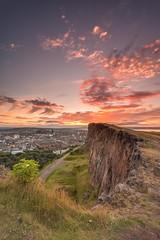 Lothians-66.jpg (Chris_Hoskins) Tags: wwwexpressionsofscotlandcom scottishlandscapephotography scotland edinburgh thecrags scottishlandscape salisburycrags sunset longexposure landscape centralscotland