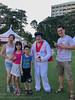 """The """"king"""" is here (Stinkee Beek) Tags: independanceday singaporeamericanschool yewyen erin ethan leonard"""