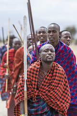 Maasai (Michael Zahra) Tags: africa african arusha tanzania tribe tribal dance jump male female groom bride colour color maasai masai culture tradition safari travel tourism canon custom costume warrior farmer nilotic maa luo sara kalenjin dinka nuer shilluk ateker bantu samburu turkana jumping singing sing song