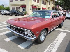 20160819 Californie Pacific Grove - Concours Auto Rally - Chevrolet Chevelle SS 396 360ch -(1966)- (anhndee) Tags: usa californie california pacificgrove voituresanciennes classiccars