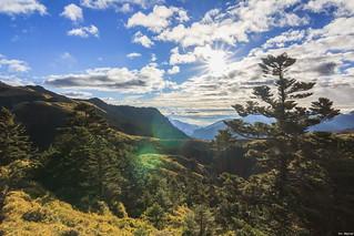Beautiful Morning@South Peak of Mt. Chilai, Taiwan.奇��峰日出後漂亮天空~😄