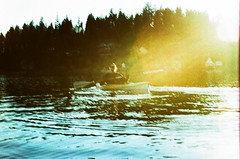 10.2017 LLWM E6-C41 Xpro, Pentax, Bowl and Pitcher E36 (Jcicely) Tags: 2017 crossprocessingxpro e6 kayaking lightflare loonlake loonlakewithmarvin marvincrippen october oldfilm pentax35mm water
