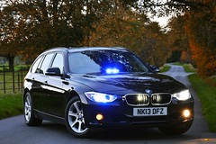 NK13 DFZ (S11 AUN) Tags: durham constabulary bmw 330d 3series xdrive touring anpr police unmarked traffic car rpu roads policing unit 999 emergency vehicle nk13dfz