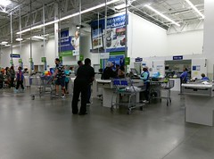 Better view of the temporary pharmacy (l_dawg2000) Tags: 2017remodel apparel café desotocounty electronics food gasstation meats mississippi ms pharmacy photocenter remodel samsclub southaven tires walmart wholesaleclub unitedstates usa