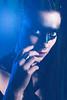 (mrksaari) Tags: d750 85mmf14g model portrait beauty ropecon 2017 promo futu cyberpunk studio turbox profoto helsinki finland blue