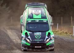NOSE DIVE!!! (Dafydd RJ Phillips) Tags: team yazeed arabia saudi al rajhi orr michael wrc fiesta ford r5 msport roll crash dive nose rally wales 2017 gb great