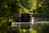 The Barge (Le monde d'aujourd'hui) Tags: autumn fall canal barge louise basingstoke odiham hampshire england water reflection trees reflected