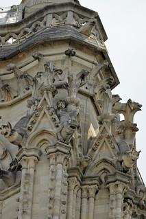 2017.07.14.072 PARIS - Notre-Dame, les gargouilles