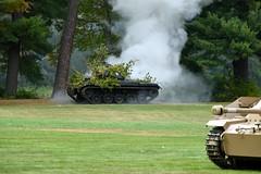 DSC_6461 (Mark Morello) Tags: collingsfoundation hudsonma battlefortheairfield encampment reenactment wwii worldwar2 german american british russian at6 pt17 texan stearman tanks german88 battle hudson massachusetts usa