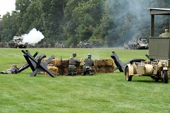 DSC_6542 (Mark Morello) Tags: collingsfoundation hudsonma battlefortheairfield encampment reenactment wwii worldwar2 german american british russian at6 pt17 texan stearman tanks german88 battle hudson massachusetts usa