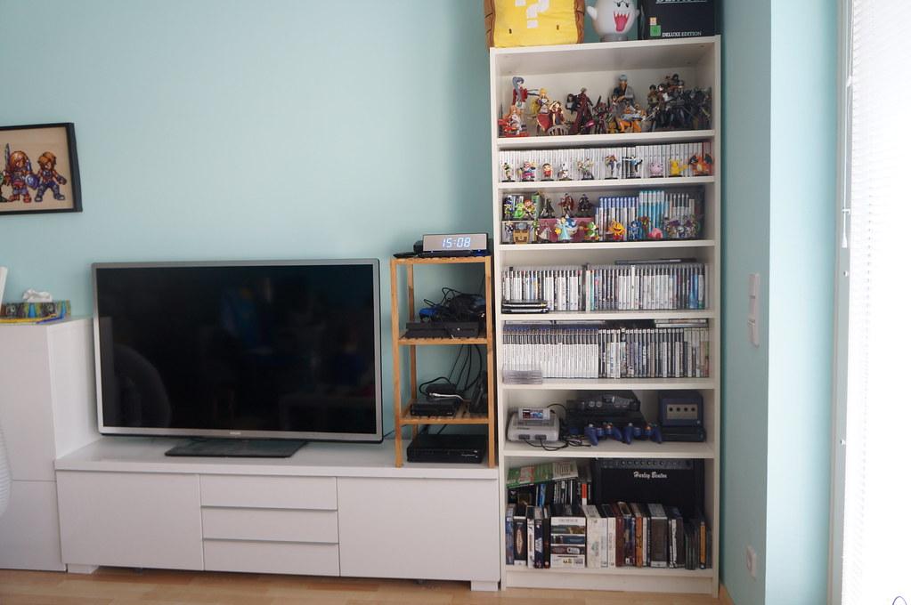 DSC05709 (Kirayuzu) Tags: Wohnzimmer Sammlung Regal Shelf Videospiele  Videogames Games
