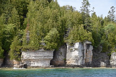 Flower Pot Island, Fathom Five National Marine Park, Bruce Anchor Cruise, Tobermory, ON (Snuffy) Tags: flowerpotisland fathomfivenationalmarinepark bruceanchorcruise tobermory ontario canada georgianbay lakehuron greatlakes