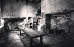 Vision d autrefois XII Siecle (mistergringo) Tags: abbaye abbayeflaran noiretblanc whiteandblack cuisine xiisiecle