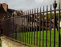 Railings At St Marys Church Mold North Wales Oct 2017 (mrd1xjr) Tags: railings at st marys church mold north wales oct 2017