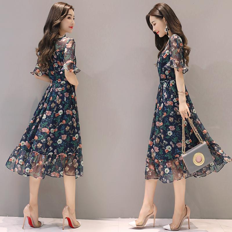 günstig 267c0 d8f89 Lange chiffon kleider sommer – Modische Damenkleider