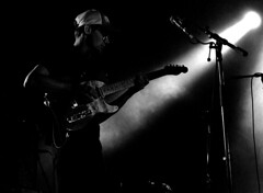 """Chausse Tes Tongs 2017"" (The Blue Water Lily's Company) Tags: fdrouet nb bw monochrome monochrom film analog concert musicien musician lysistrata chaussetestongs festival nikon kodak bretagne brittany"