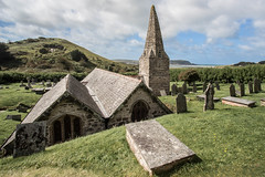 St. Enodoc (Explored!) (sharongellyroo) Tags: church stenodoc cornwall holidays inexplore