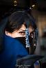 The lovely Kitana (foreground) (Riccardo Trevisan) Tags: portrait eyes sguardo stare cosplay summer ferrara kitana fan ventaglio lovely beauty