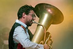 Gil Gonçalves (Tuba man) (José Rasquinho) Tags: som música palco luz show espectáculo concerto montemor laranja rasquinho sonyflickraward