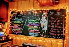Nice Local Selections (Lake Effect) Tags: wingsetc beer blackboard sign menu bells founders barehands threefloyds burnem