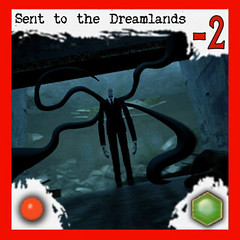 """Manifestation of Slenderman: Sent to the Dreamlands"" 5/10 - Arkham Horror Monster, front side (dizzyfugu) Tags: slender slenderman urban myth horror child abduction lovecraft cthulhu arkham great old one servant race monster board game epic dizzyfugu strange eons"