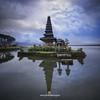 Pura Ulun Danu Bratan the lake temple (joana dueñas) Tags: bali indonesia sunrise summer temple watertemple shiva parvathi hinduism clouds joanadueñas photofeeling