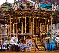 (tamaraschwenk) Tags: lights childhood carousel
