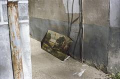 Juxtapose Alley by Alec C Miller - 35mm Portra 160
