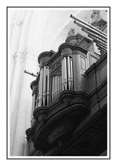 Grand orgue - Cathédrale Notre-Dame de Senlis (DavidB1977) Tags: france hautsdefrance picardie oise senlis fujifilm x100f orgue cathédrale notredame nb bw monochrome