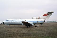 CCCP-87701 Yakovlev Yak-40 Aeroflot (pslg05896) Tags: akx uatt aktyubinsk aktobe kazakhstan cccp87701 yakovlev yak40 aeroflot