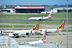 Brisbane Airport (CooverInAus) Tags: brisbane airport virgin australia tigerair boeing airbus 737 a320 jet queensland ybbn bne