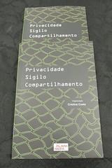 Lançamento do livro Privacidade Sigilo Compartilhamento